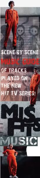 misfits music track listing form the tv series scene by scene