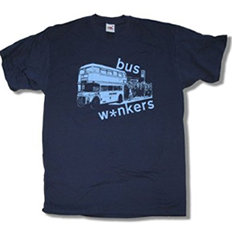 bus wankers t shirt inbetweeners inspired