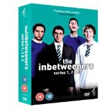 Inbetweeners series 1-3 DvD Boxset