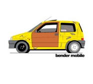 bender mobile inbetweeners